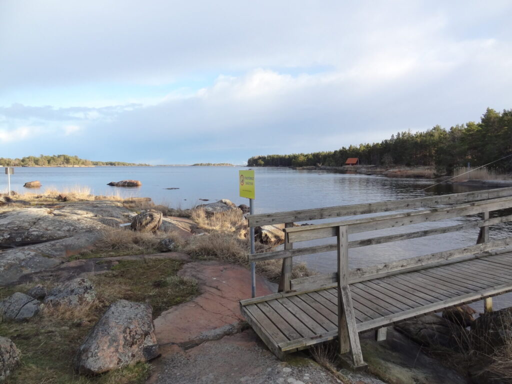 Applerumsån ströömar ut i Natura 2000 omrpdet Storö